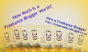 freelance blogger worth