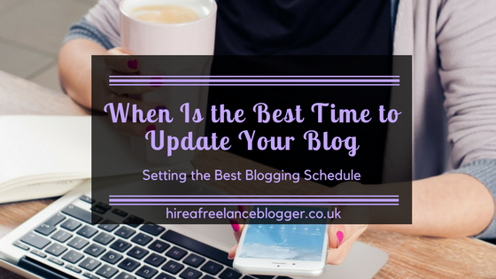 Is There a Best Time to Update Your Blog?
