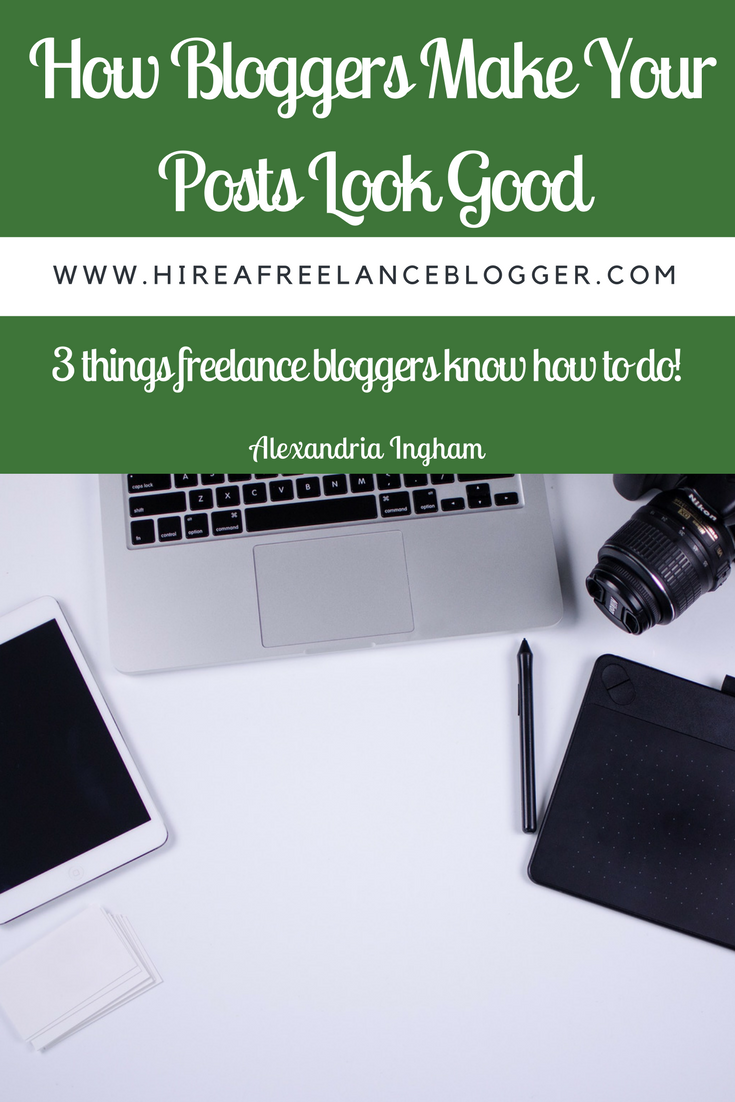 Freelance bloggers make your content look good