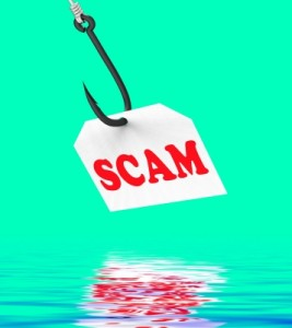 writing scams