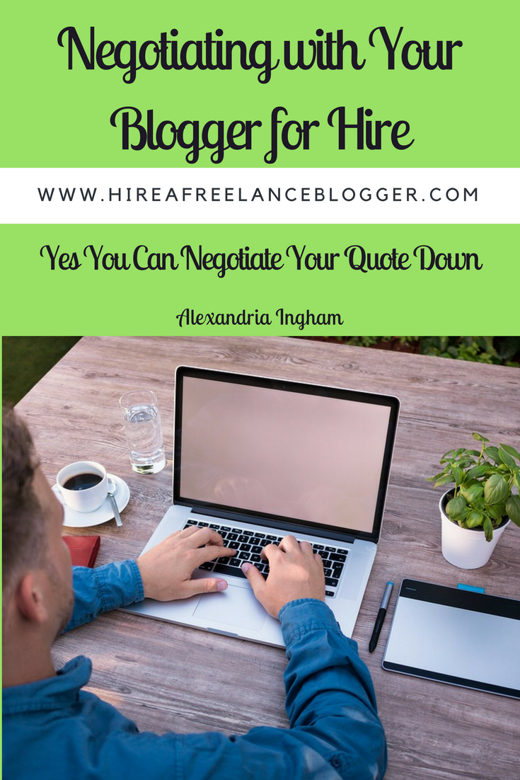 Hiring a freelance blogger and negotiating the costs