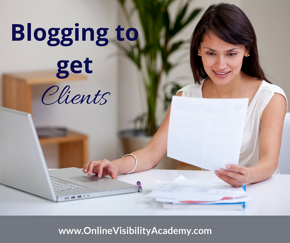 How to Get Clients Blogging
