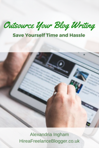 outsourcing blog writing to save time