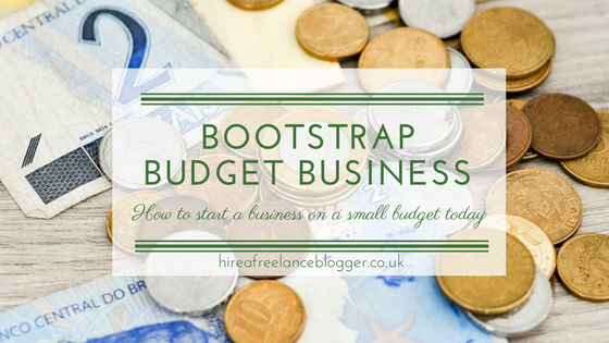 5 Ways to Start Your Business on a Bootstrap Budget