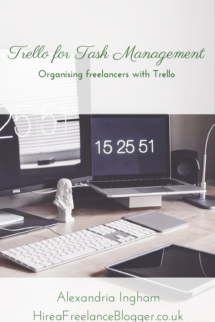 Trello for Task Management of Freelancers