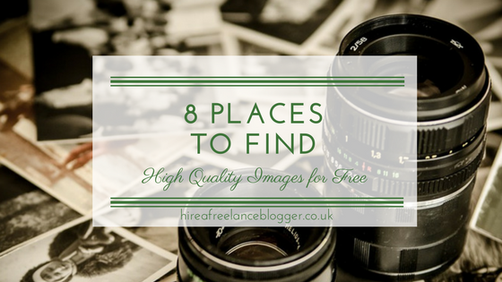 8 Places to Find High Quality Images for Free
