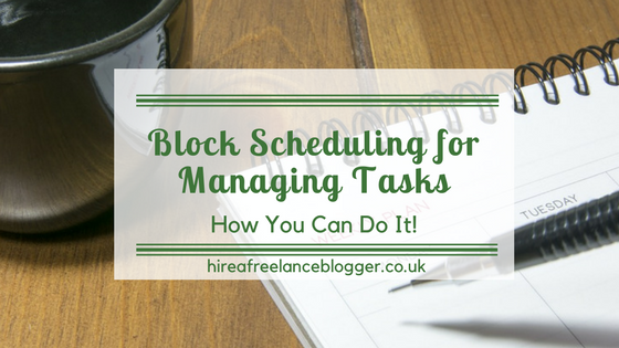 Block Scheduling for Managing Tasks: How I Use It and How You Can Use It Too