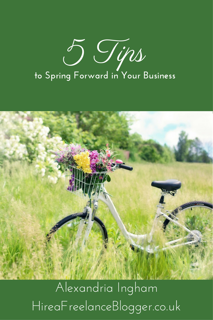 spring forward in your business
