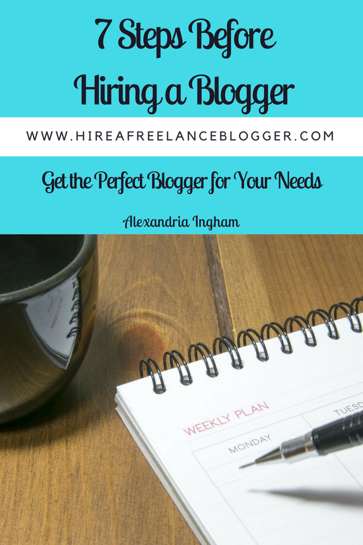 How to Hire a Blogger