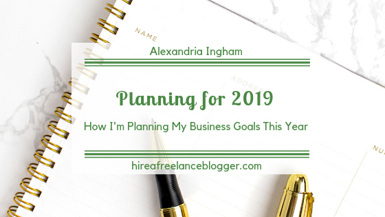 My New Way of Setting Goals for My Business